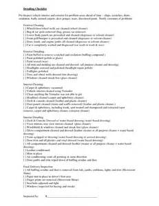 Car Wash Checklist Template by Best Photos Of Car Cleaning Checklist Car Detailing