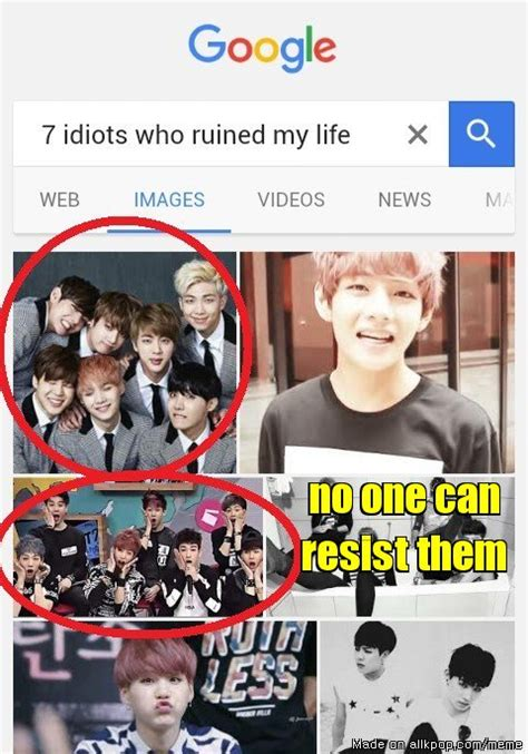bts my biography bts and got7 even google knows it allkpop meme center
