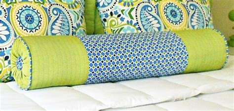 How To Make A Bolster Pillow by Custom Bedding Decorative Shams And Bolsters Class It
