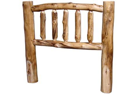 rustic log headboards log headboards rustic log
