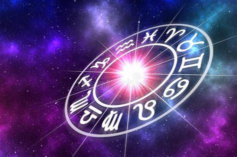 set  astrological zodiac symbols horoscope sig stock