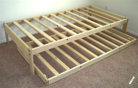 twin bed frame wood ideal twin trundle bed frame loft bed design