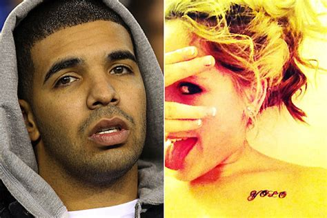 does drake have tattoos gets yolo
