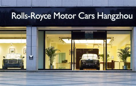 rolls royce store rolls royce opens sixth showroom in greater china