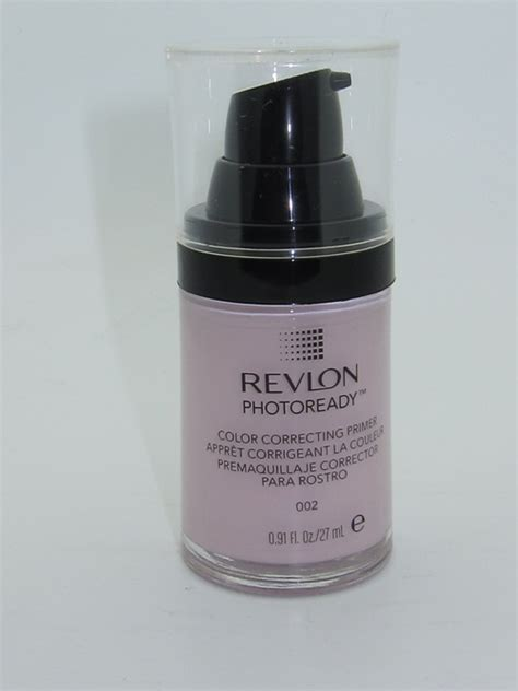 Revlon Photoready Correcting Primer revlon photoready color correcting primer review swatches