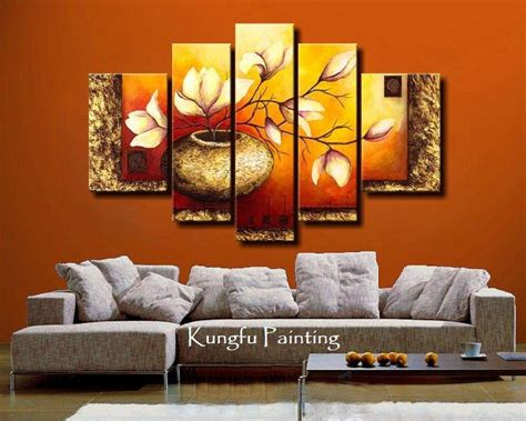 Paintings For The Living Room by Wall Decoration With Wallpapers Paintings And