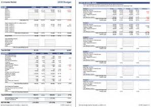 Sample Business Budget Template Business Budget Template For Excel Budget Your Business