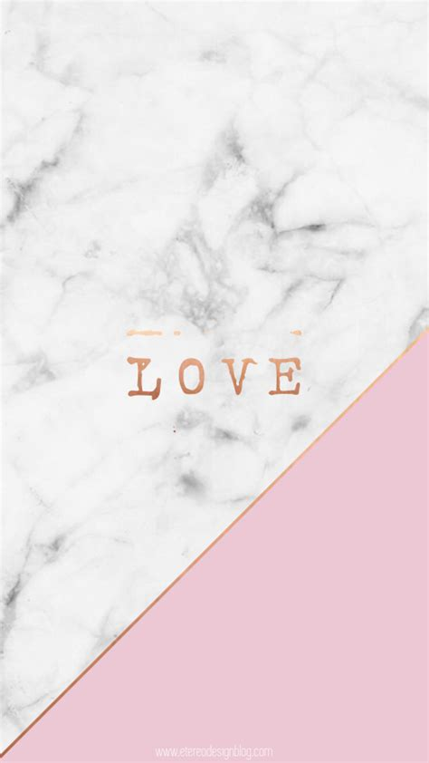 wallpaper love pinterest free wallpaper download gold marble pink love cute