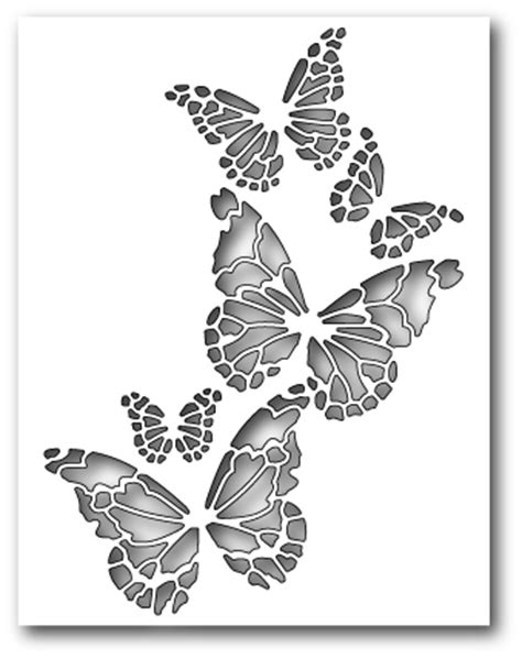 doodlebug uk stockists butterfly collage