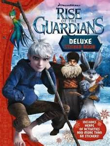 booktopia rise guardians deluxe sticker book mile press 9781743009215