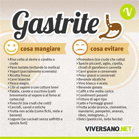 alimenti da evitare per reflusso cosa mangiare con la gastrite i cibi da preferire e da
