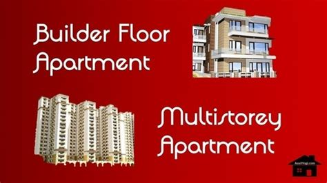 Difference Between Storey And Floor by What Is The Difference Between A Builder Floor Apartment