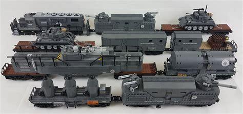 tutorial armi lego riding the rails with a lego wwii army supply train the