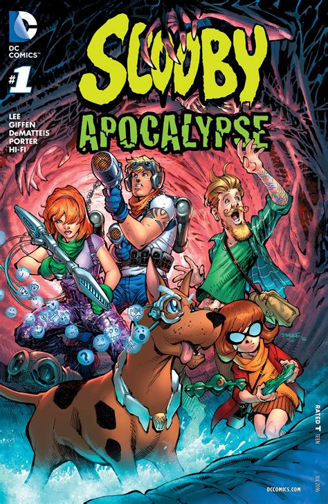 scooby doo and the meddling kids face the apocalypse new