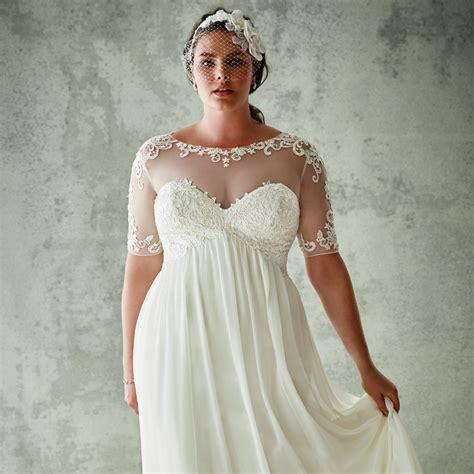 Plus Size Bridal Gowns by David S Bridal Plus Size Wedding Dresses Popsugar Fashion