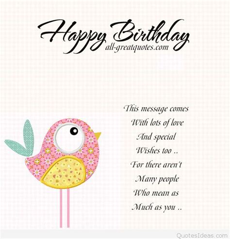 Happy Birthday Card Messages Happy Birthday Card With Love Message