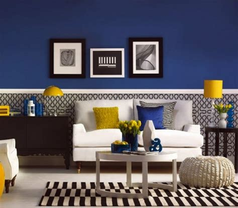 Idee Deco Salon Bleu by Couleur Peinture Salon Conseils Et 90 Photos Pour Vous