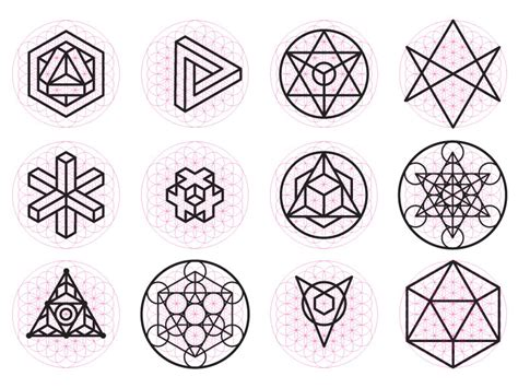 geometric pattern meanings sacred geometry by jeff finley dribbble