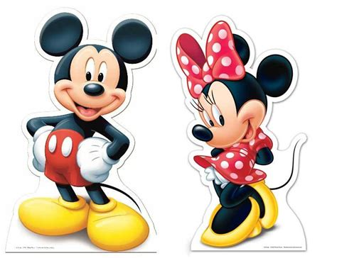 Sepatu Minny Mouse Dan Micky Mouse lifesize cardboard cutout of mickey mouse and minnie mouse buy disney character cutouts