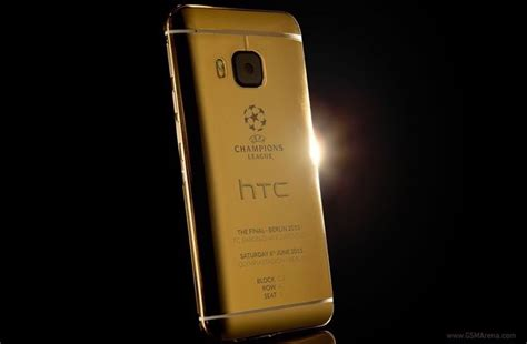 Juventus Htc One M9 htc celebrates the uefa chions league with 24ct gold one m9