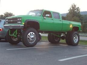 lifted chevy dually cars