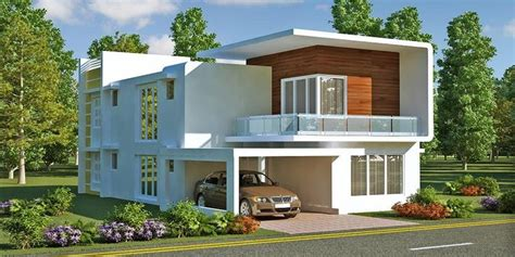 House Elevation Dimensions by Front Elevation Duplex House 24 House Elevation Plot Size