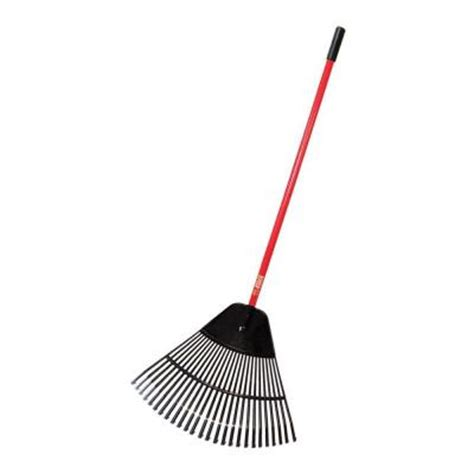 Landscape Rake At Home Depot Bully Tools 24 In Poly Lawn And Leaf Rake 92624 The