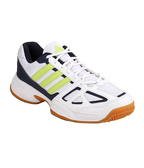 adidas cross court white indoor sport shoes price in india