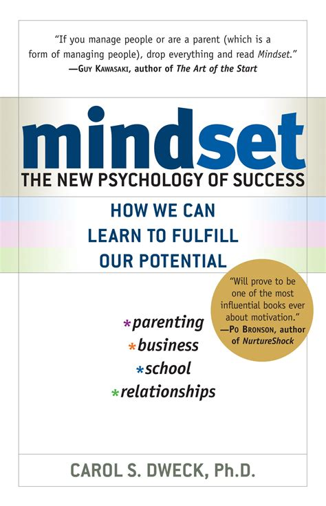 book review mindset the new psychology of success by