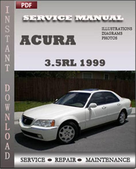 1999 acura rl service manual acura 3 5rl 1999 service repair manual instant download