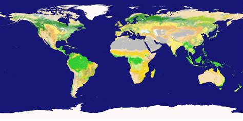 global map earth nasa visible earth new land cover classification maps