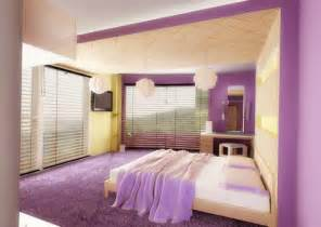Colorful Interior Design Ideas Modern Bedroom With Purple Color D S Furniture