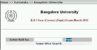 Bangalore Mba Results by Results Archives Examsleague