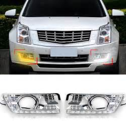 Cadillac Srx Accessories 2010 One Pair Daytime Running Light Drl Car Led Lights L