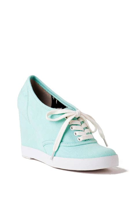 bc footwear merry canvas wedge sneaker s