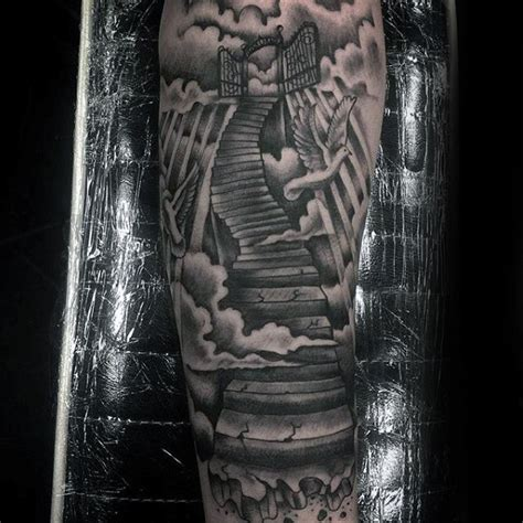 heavens gate tattoo 50 heaven tattoos for higher place design ideas