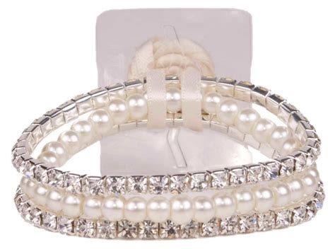 fitz design flower jewelry 3 packages sarina flower bracelet chagne sa1211