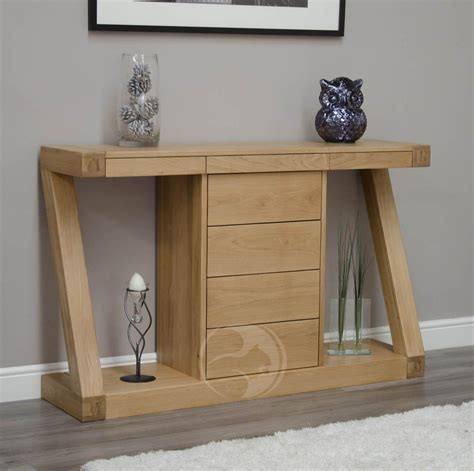 Small Hallway Table Small Oak Console Tables