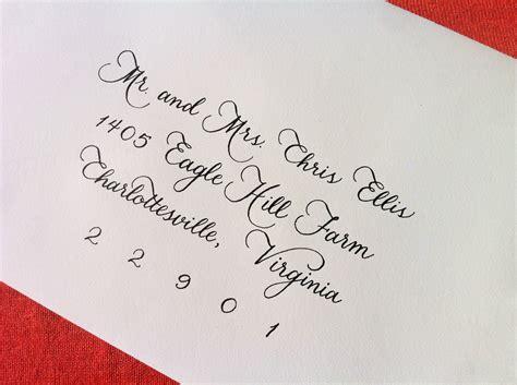 Wedding Invitations Calligraphy by Custom Wedding Invitation Calligraphy Megan