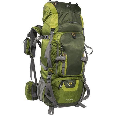 Backpack Set 4 In 1 high titan 55 backpacking pack 4 colors ebay