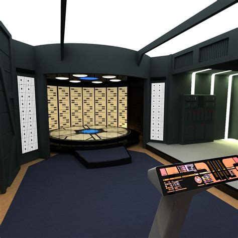 transporter room max enterprise d transporter room