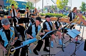 swing shift band jazz on the green swingin into summer