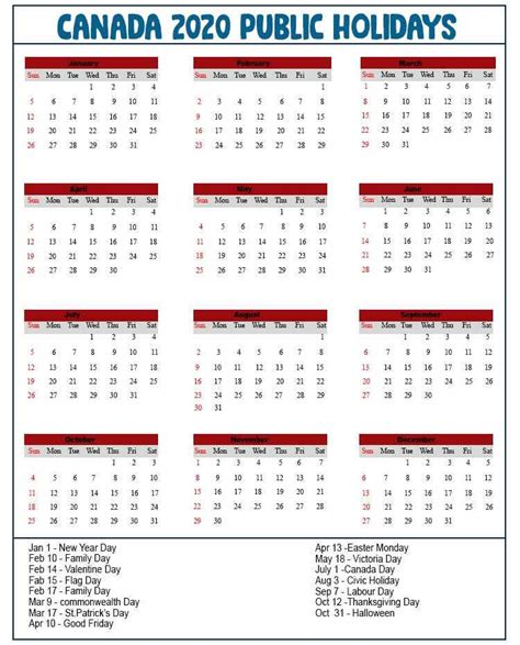 photo  printable canada public holidays calendar  public holidays  shotoe