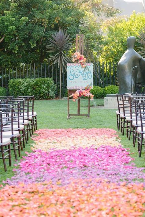 100 awesome outdoor wedding aisles you ll outdoor 100 awesome outdoor wedding aisles you ll page 4