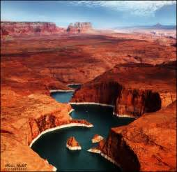 places in the united states lake powell utah and arizona united states beautiful