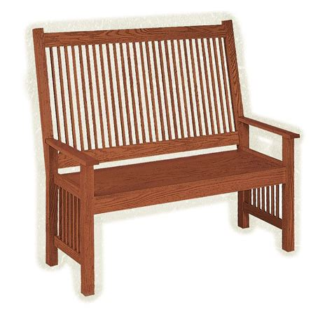 deacon s bench furniture mission deacon s bench from dutchcrafters amish furniture