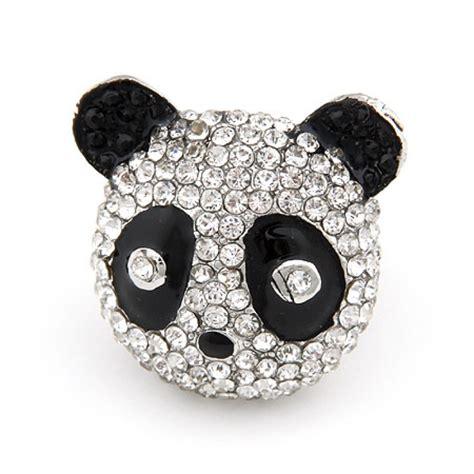 sweet and panda ring jewelry