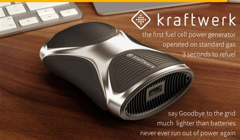 portable fuel cell charger forget about battery packs kraftwerk is a fuel cell
