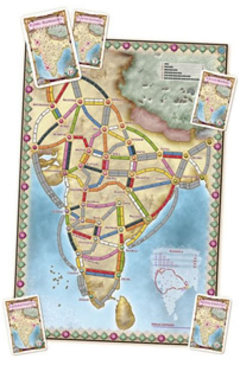 Ticket To Ride Map Collection Volume 2 India Switzerland ticket to ride map collection volume 2 india and switzerland