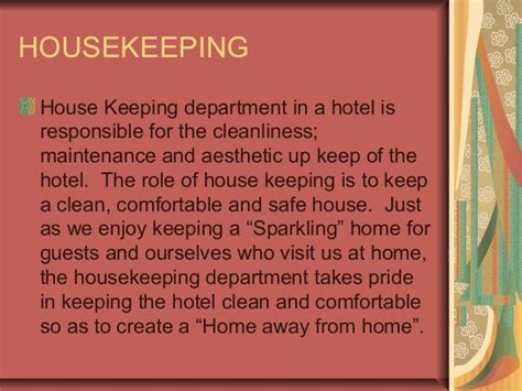 keeping room definition hk in brief housekeeping in hotels